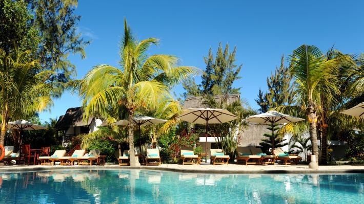 Swimming pool, Coin de Mire Attitude Hotel, Mauritius
